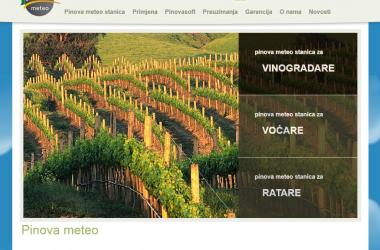 Website Pinova-meteo.com