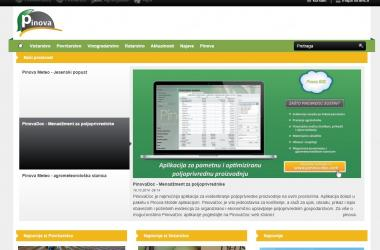 Website Pinova.hr
