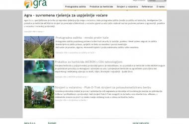 Website Agra.hr
